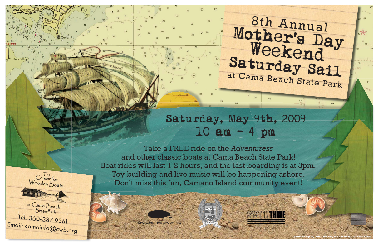 2009 mothers day sail poster